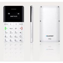 Blaupunkt FXS01 extra slim mobiltelefon készülék,fehér