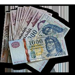Készpénzzel